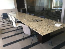 20' Granite Conference Table