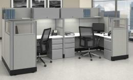 In Stock Cubicles with Glass