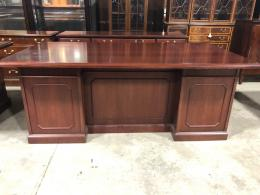 Steelcase Traditional Desk & Credenza