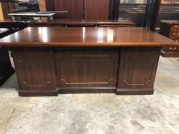 Kimball Traditional Desk and Credenza