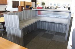 Mayline Adjustable Height Reception Desk
