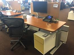Steelcase 6' Sit-Stand Stations