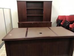 Mobilia Designs in Wood Desk & Credenza