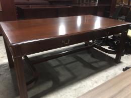 Walnut Traditional Table Desk