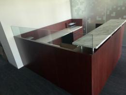 Reception Desk with Granite