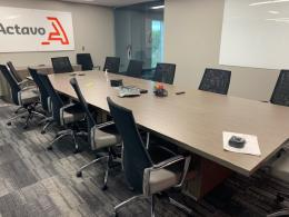 14' Conference Table and Chairs from Global