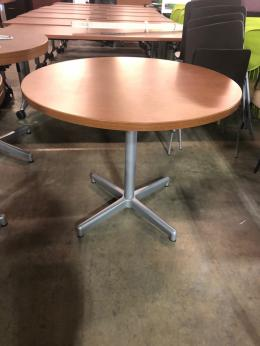 Walnut Laminate Breakroom Tables