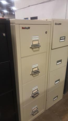 FireKing25 four drawer files