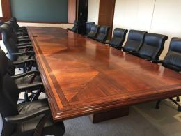 30' Mahogany Conference Table