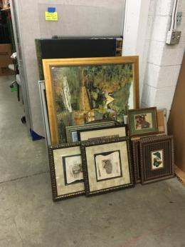 Used Office Artwork in all sizes