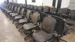 Knoll Chadwick mesh chairs