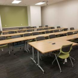 Training tables and chairs