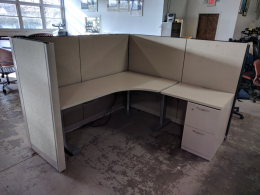STEELCASE 6' X 6 CUBICLE 55