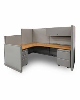 Group LaCasse Nvision Workstation 6'W X 5'D
