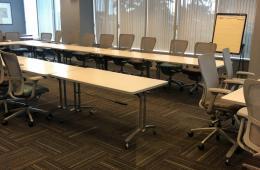 Rectangular Mobile Training Tables