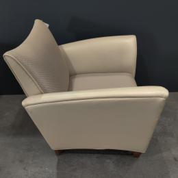 Jasper Tan Leather Club Chair