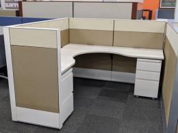 Haworth Compose Workstation 6'D X 6'W X 50