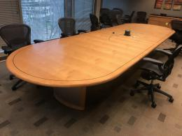 Maple Racetrack Conference Tables