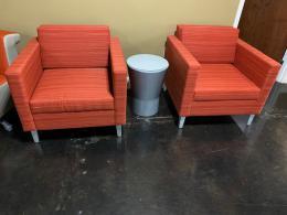 Gunlocke Club Chairs