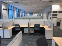 Steelcase 6 x 6 Office Cubicles in Mid-Height