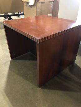 New Global Ventnor Veneer Toffee End Tables