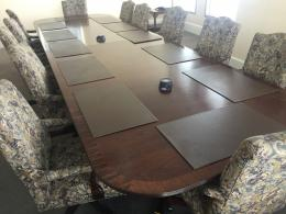 16' Traditional Bernhardt Conference Table