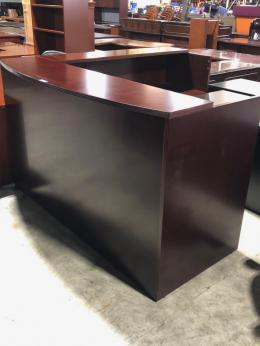New Global Ventnor Veneer Reception Desk