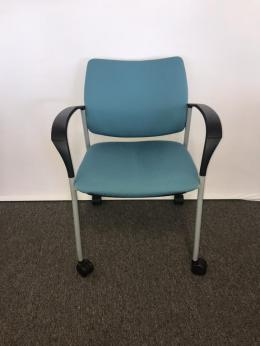 Used Side Chairs on wheels