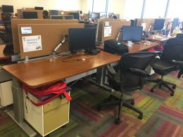 Steelcase Sit Stand Stations