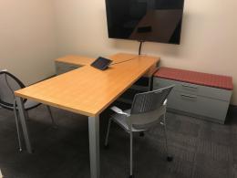 Maple L-Desk