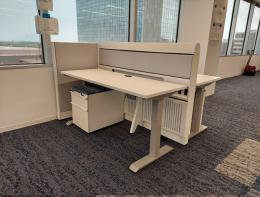 Knoll re manufactured Currents ergo cubes