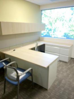 Allsteel U Shaped Desks