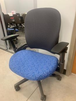 Steelcase Leap Plus with tags