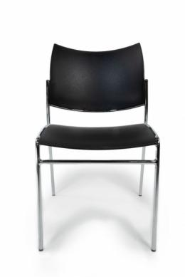 Mayline Escalate Stack Chair (Black)