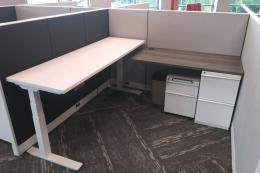 Remanufactured Knoll Morrison 6x6 Cubicle 48