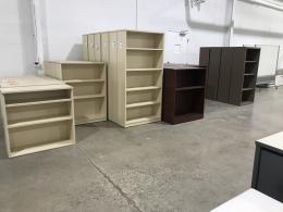 BOOKCASES / ASSORTED