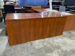 Kimball Cherry L-Desk