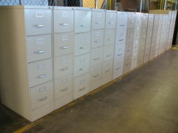 File Cabinets (Lateral, Vertical)