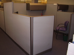 8x8 Knoll Morrison Used Cubicles in Buffalo