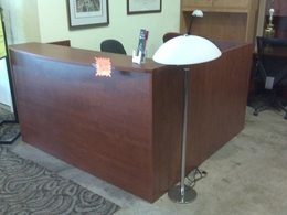 Brand New Laminate Reception Stations