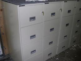 Used - Schwab 5000 Fire Proof File Cabinets
