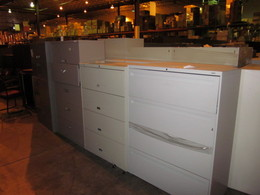 Used Storage (Laterals and Vertical Files)