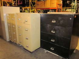 Used Fire Proof Files (Laterals & Verticals)