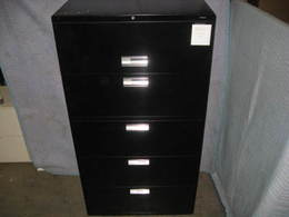 HON 5 drawer lateral files
