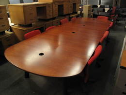 New Conference Area Tables and Chairs