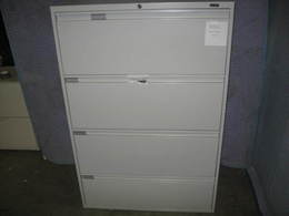 Global 4 drawer used lateral file