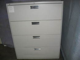 HON 4 drawer used lateral files