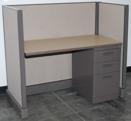 Used 4' x 2' Telemarketing Stations