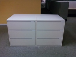 Pre-Owned Lateral File Cabinets