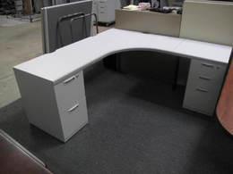Used free standing modular desks $249-349